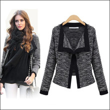 New Fashion Women Winter Autumn High Quality Casual Irregular Knitted Sleeve Sweater Coat Knitwear Cardigan Jacket S-XXL