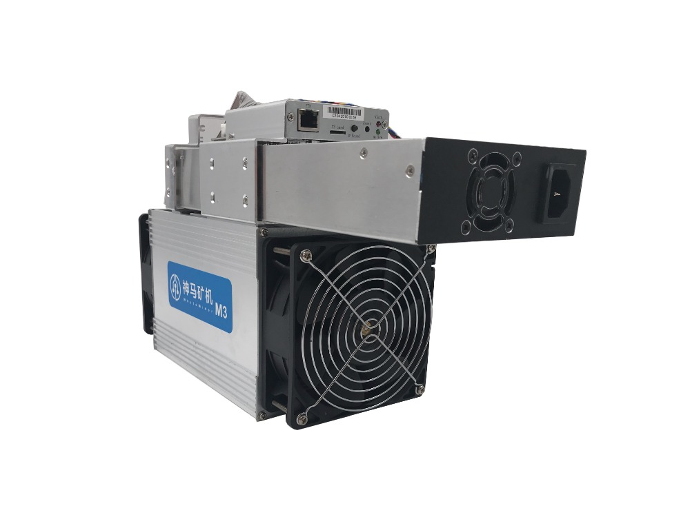 used old Asic Miner Bitcoin Miner WhatsMiner M3X 11.5-12.5T/S Better Than Antminer S7 S9 WhatsMiner M3 With PSU For BTC BCH 5