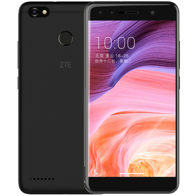 ZTE Blade A3 3GB 32GB Mobile Phone 4G LTE  Quad Core 5.5Inch 13.0MP 4000mAh Fingerprint Android 7.0