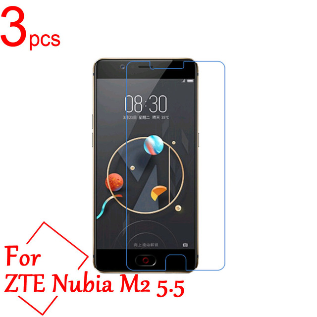 3pcs Clear/Matte/Nano Anti-Explosion LCD Screen Protector Cover For ZTE Nubia M2 Lite M2 play NX551J NX907J Protective Film
