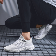 2019 mens thin section summer new wild sneakers flying woven breathable deodorant soft low shoes