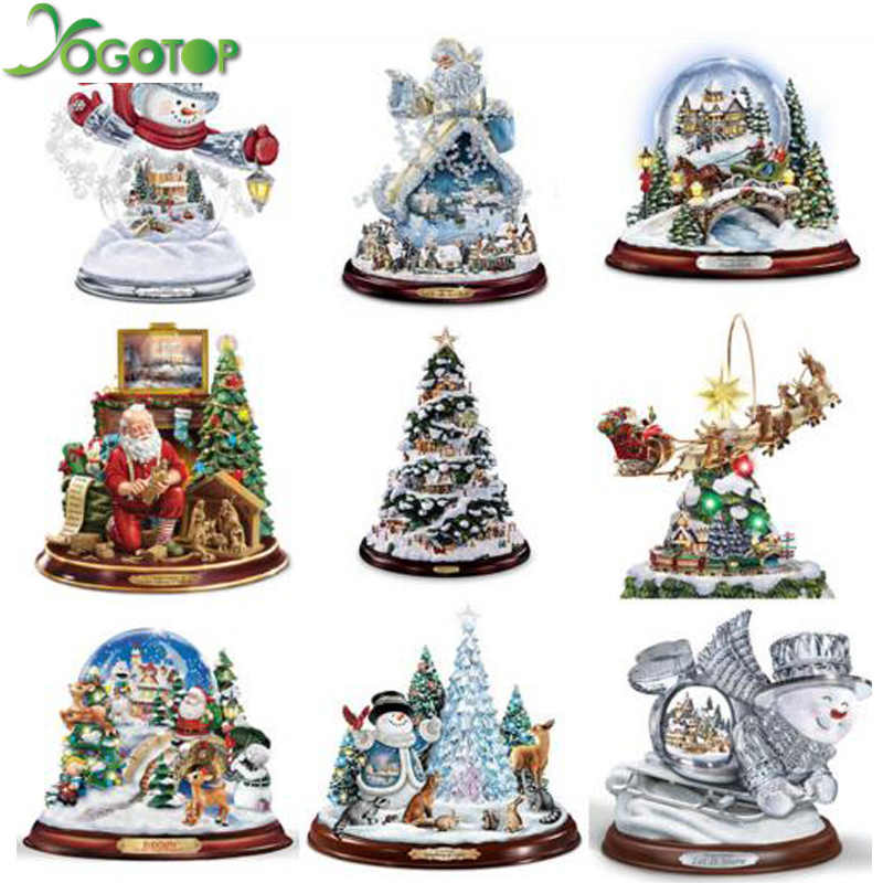 YOGOTOP 5D Diy Diamond Painting Cross Stitch Christmas snowman 5D Diamond Mosaic Decor Full Diamond Embroidery Santa Claus ZB874