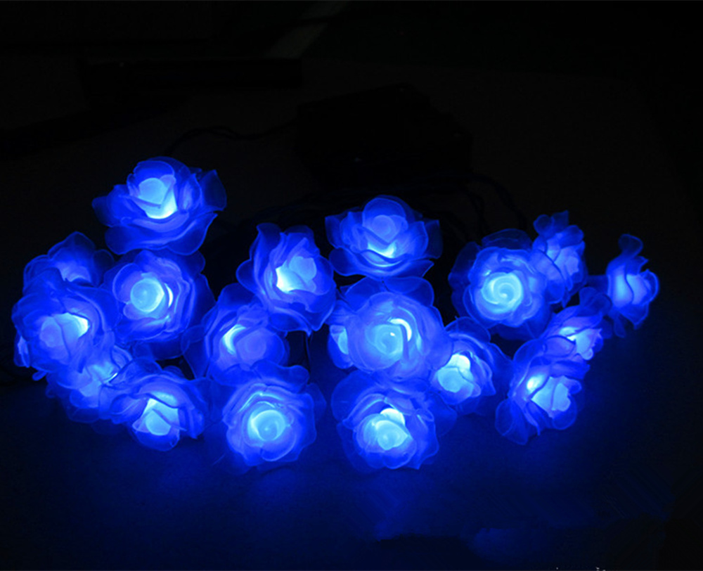Party Verlichting Tuin : Solar bloemen voor tuin lichtslingers met panel outdoor tuin