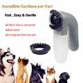 Limpiador al vacío para mascotas grandes perros de piel Vac colección de pelo gatos perro Groomer artículos útiles para mascotas suministros para perros productos para mascotas venta al por mayor