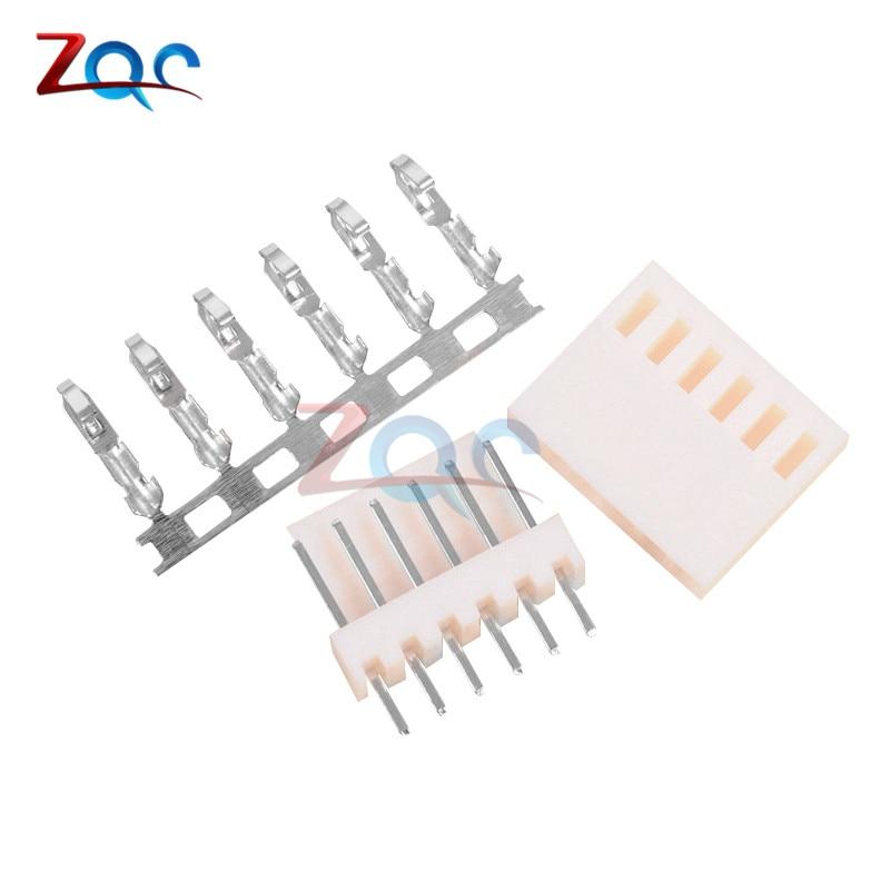 10PCS KF2510-6P 2.54mm Pin Header & Terminal & Housing Connector Kits