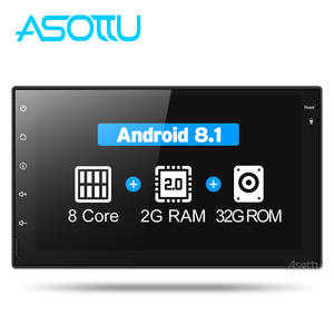 Asottu CWD7060 2G android 8.1 car dvd gps navigation radio video player stereo universal