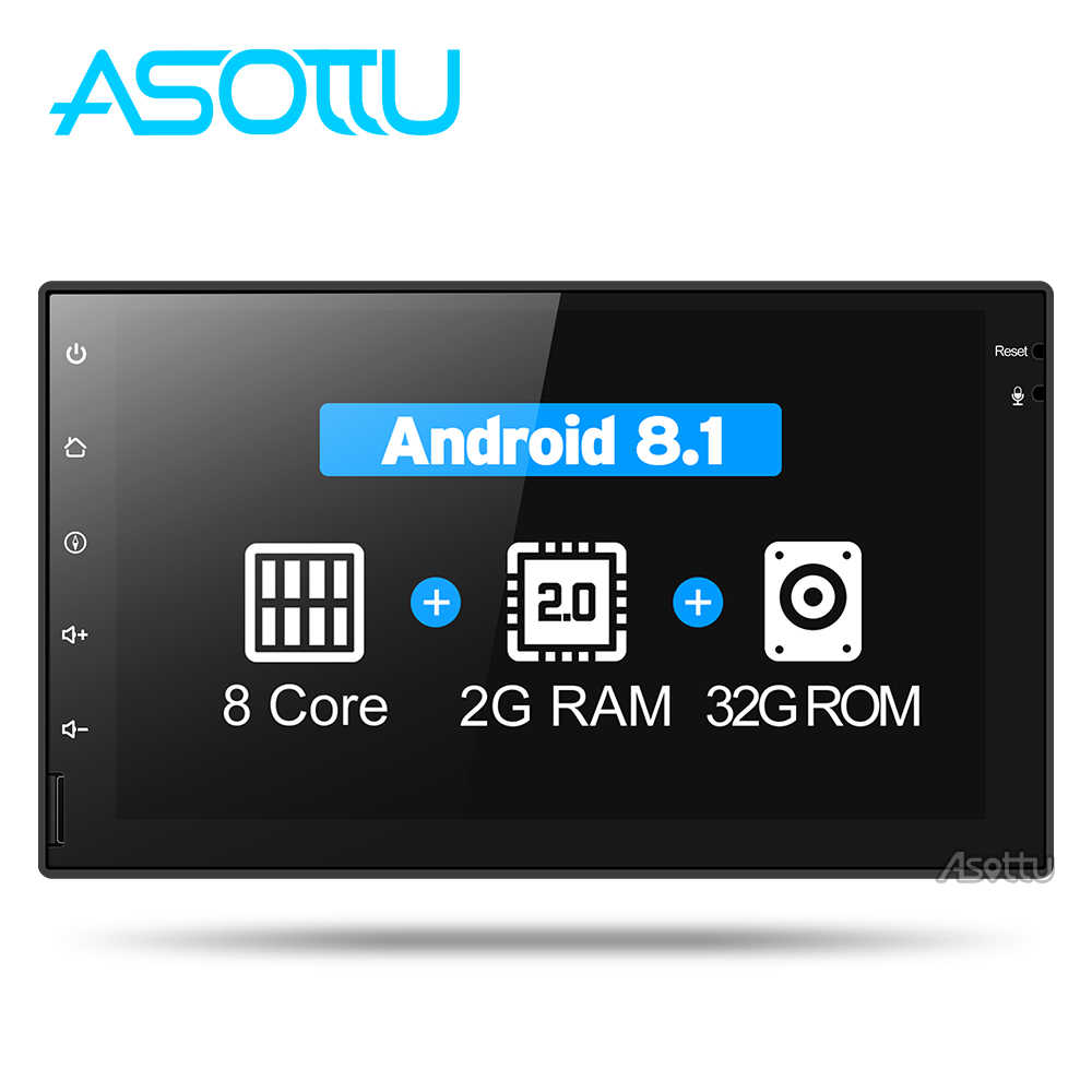 Asottu CWD7060 2G android 8,1 navegación gps con DVD para coche radio video player stereo universal 2 din coche radio reproductor multimedia gps