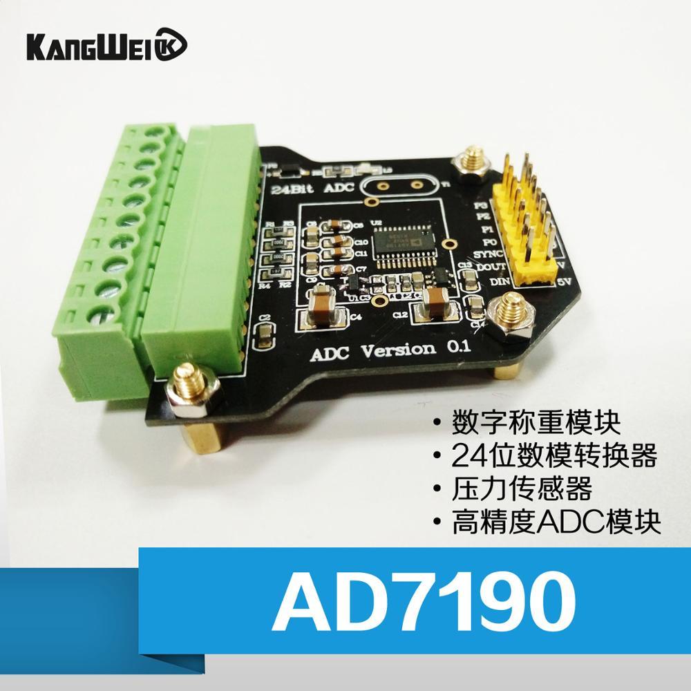 Module de pesage numérique AD7190 capteur de pression à convertisseur analogique à 24 chiffres module ADC de haute précision