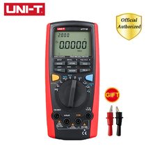 UNI-T UT71B Intelligent Digital Multimeter Professional 20000 Counts Display AC / DC Capacitance Temp Meter Tester oled display true rms inrush digital clamp meter 6000 counts ac dc v a capacitance ohm freq temp vfc ncv flashlight uni t ut216d