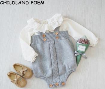 комбинезон для маленьких девочек одежда для малышей комбинезоны
