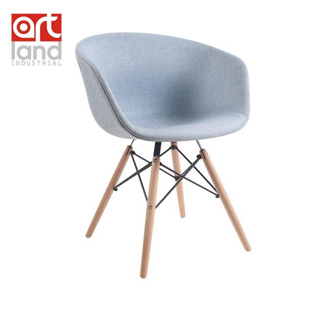 W Mega Jadalnia krzesło rozrywka krzesło tapicerowane fotel z drewnianymi HH48