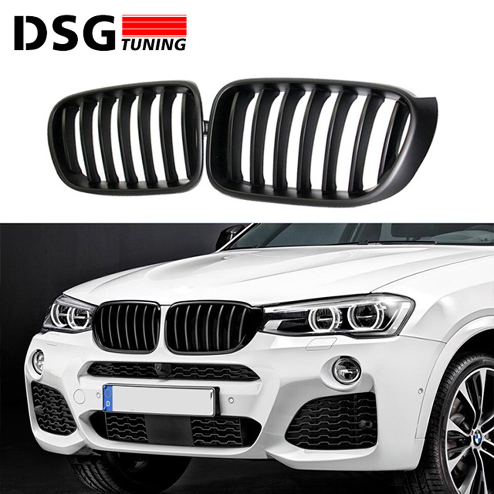 f25 replacement car styling racing grille for bmw x3 f25 x4 f26 m sport design abs front bumper. Black Bedroom Furniture Sets. Home Design Ideas