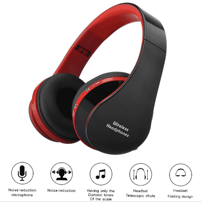 NX-8252 Bluetooth Headset Stereo Casque Audio Mp3 Wireless Headphones Earphone For iPhone 6 For Samsung Xiaomi Headband Headset remax 2 in1 mini bluetooth 4 0 headphones usb car charger dock wireless car headset bluetooth earphone for iphone 7 6s android