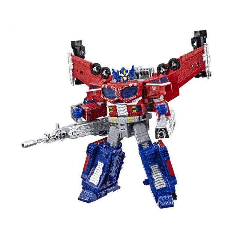 18cm transformateurs siège guerre pour Cybertron trilogie Optimus Prime onde de choc PVC figurine générations Collection modèle jouets - 3