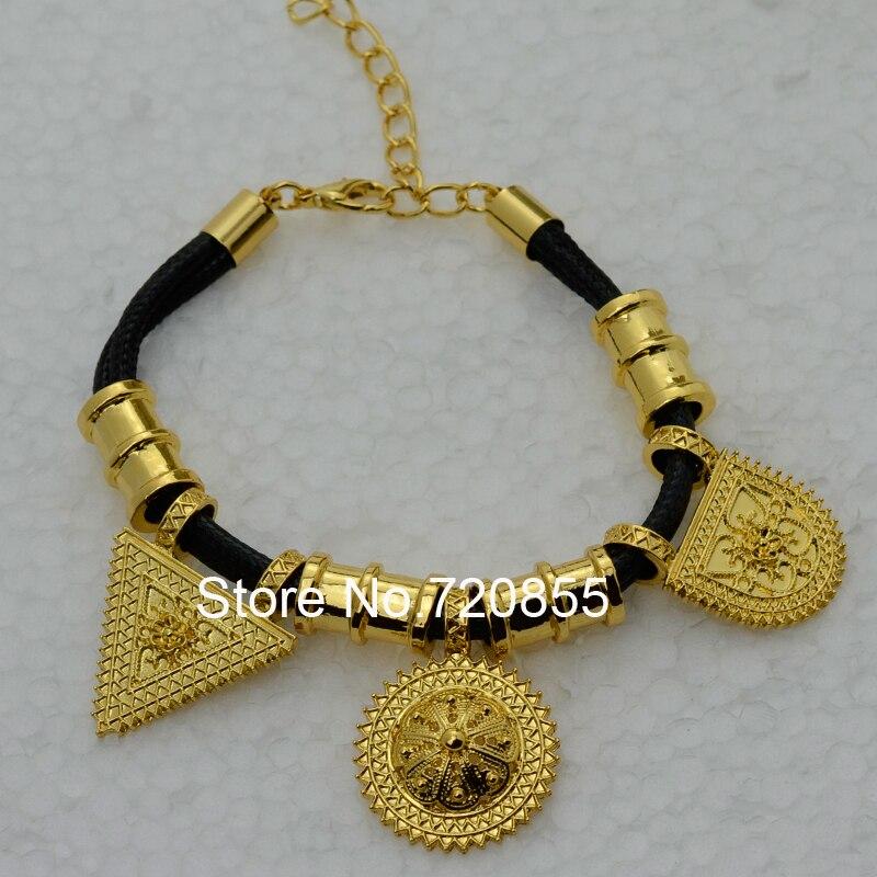 Anniyo Wholesale Eritrea Habesha Ethiopian set Jewelry Necklace
