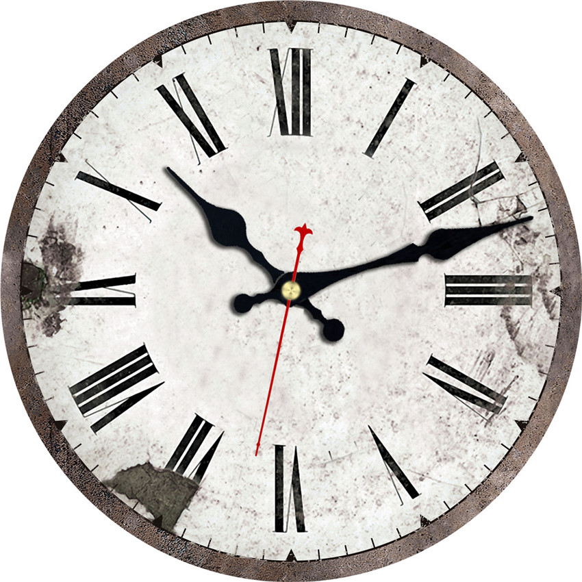 Artistic european design wall clock relogio de parede for Design wall clocks for living room