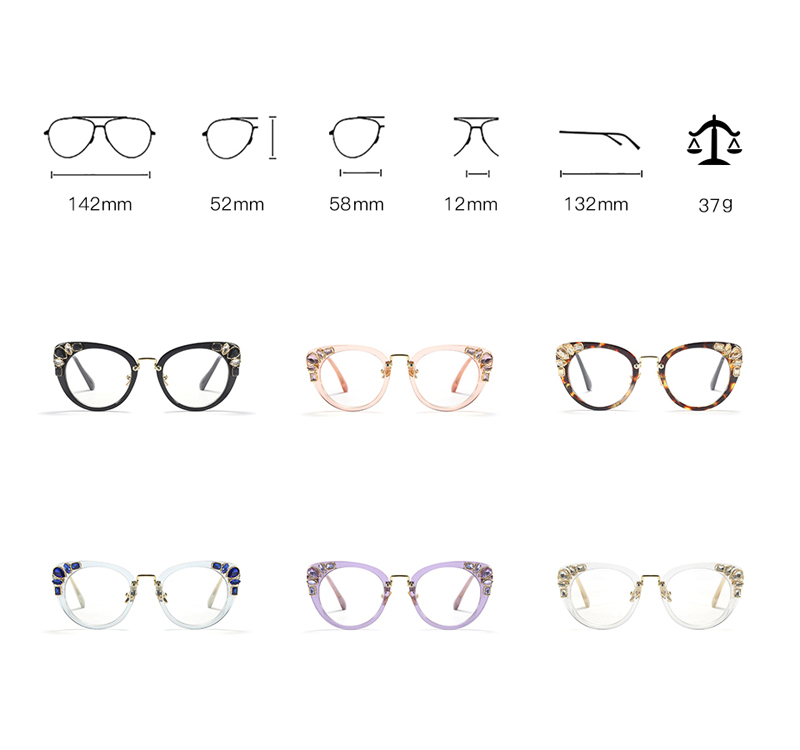 cat eye glasses 9328 details (3)