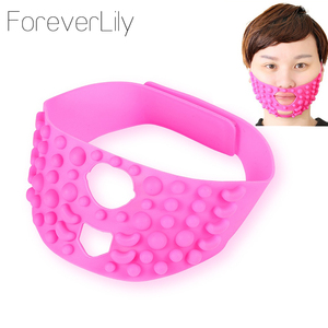 Fashion Pink Silicone Face Lif