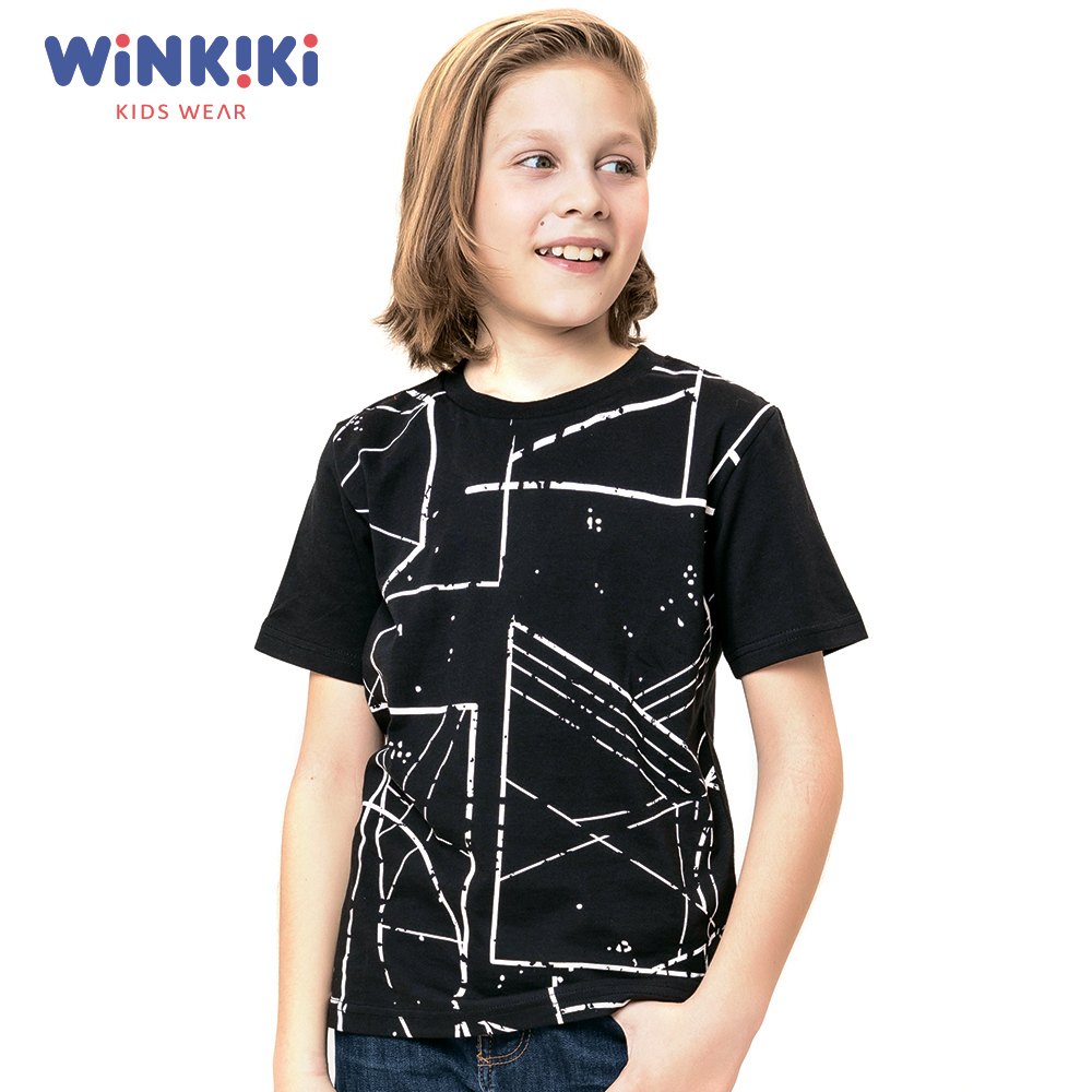 Фото - T-Shirts Winkiki WTB91431 T-shirt kids children clothing Cotton White Boys Casual grizzly territory t shirt [large] white