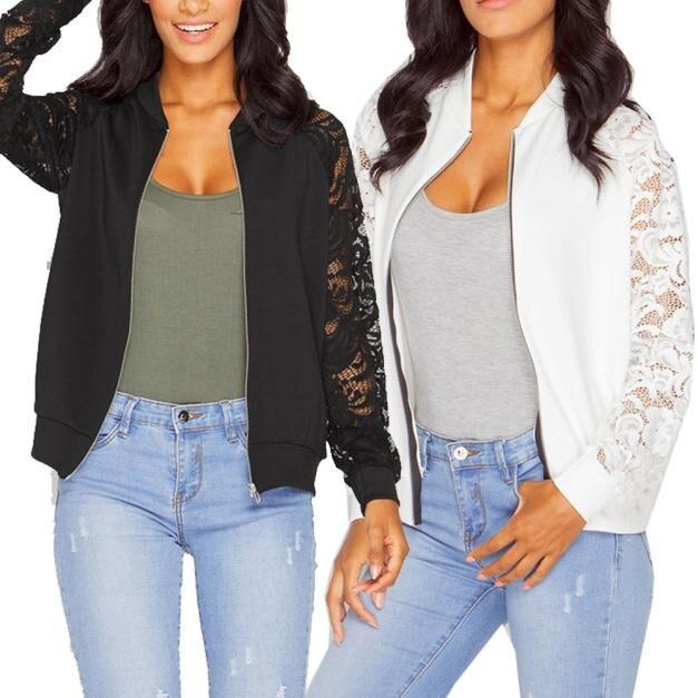 Womens Long Sleeve Jacket   Sexy V Neck Long Sleeve Black Female Coats Spring-autumn Fashion W0717#10
