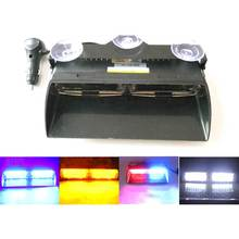 AMBER96W High power 16 Led amber light bar Car dash strobe flashing Emgergency Warning Police Fireman daytime work   lamp  light