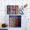 Size S 10 Color Key Lock Book Safes Hidden Safe Box Travel Home Money Jewelry Security Steel Simulation Book 118 115 55mm promo