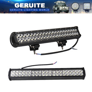 Car Light Bar 126W 12-24V 42 X 3W 12600LM Work Spotlight For Truck Off Road SUV Bus Front Bumper Lamp Outdoor Lighting