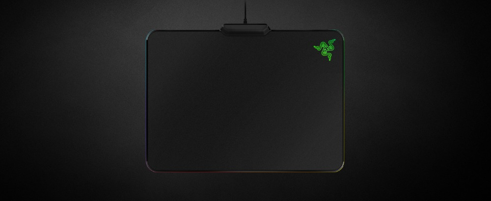 Razer Firefly Chroma, 16 8 Million RGB Backlit Non-Slip Rubber Base -  Powered by Razer Chroma - Gaming Mouse Mat