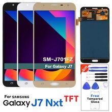 Для samsung Galaxy J7 NEO J701F ЖК-дисплей ЖК-экран Замена для samsung J7 Core ЖК-дисплей Яркость можно регулировать