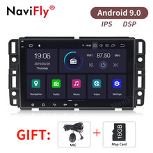 NaviFly Reine Android9.0 IPS DSP Auto audio gps navigator für Chevrolet Tahoe Traverse BUICK Enclave GMC unterstützung OBD2 TPMS(China)