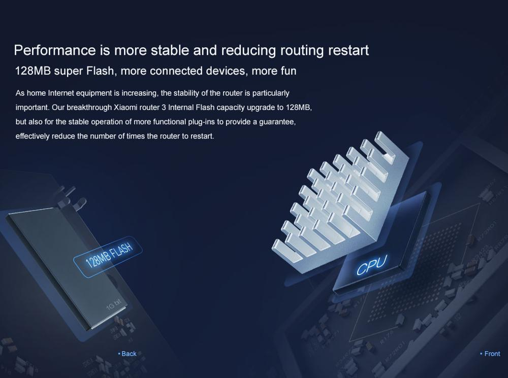 Original Xiaomi Mi WIFI Router 3 CPU MT7620A 2.4G5G WiFi Roteador Dual band 4 antenna APP Control 1167Mbps ok (10)