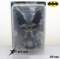EMS Shipping 6pcs 8 Comics DC Universe Batman Superhero The Dark Knight Rises Boxed 20cm PVC Action Figure Collection Model Toy