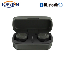 TOPYING Mini Bluetooth Earphone Wireless Earbuds Stereo Earphone In-Ear Headset Sport with Charging Box for Samsung iPhone LG