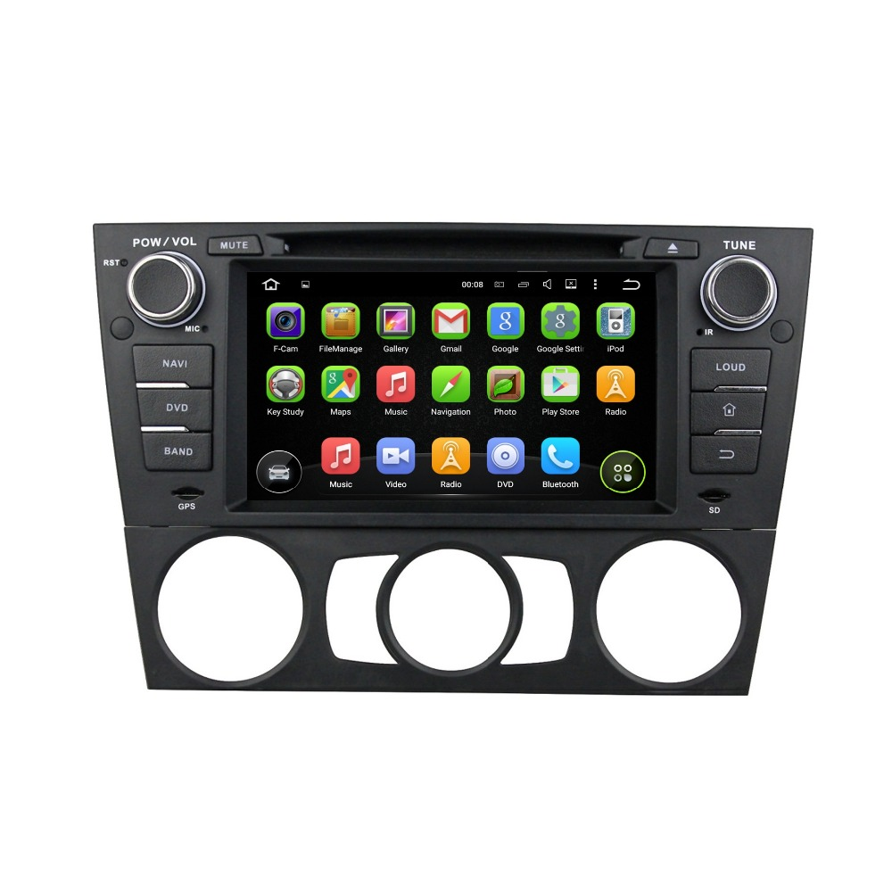 1024*600 Quad Core 7″ Android 5.1 Car Radio dvd Player for 3 Series BMW E90 E91 E92 E93 With GPS 3G WIFI BT TV USB 16GB ROM DVR