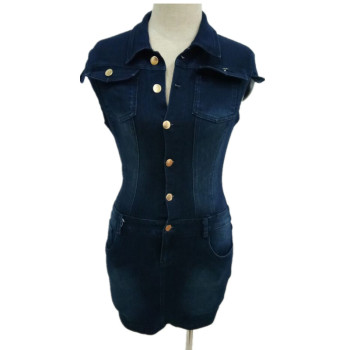 Women's Slim Denim Dress 5