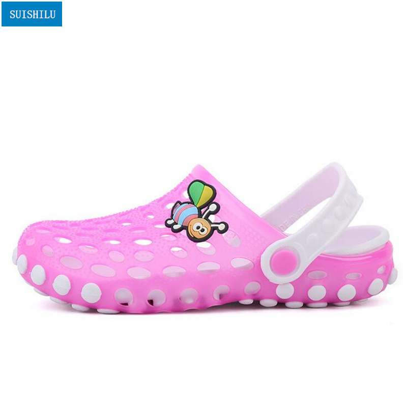 db4ef89ae Cartoon Baby Beach Slipper Children Sandals Wholeas EVA Anti-slip Girls  Boys Slippers Summer Garden Shoes Child Slipper N309