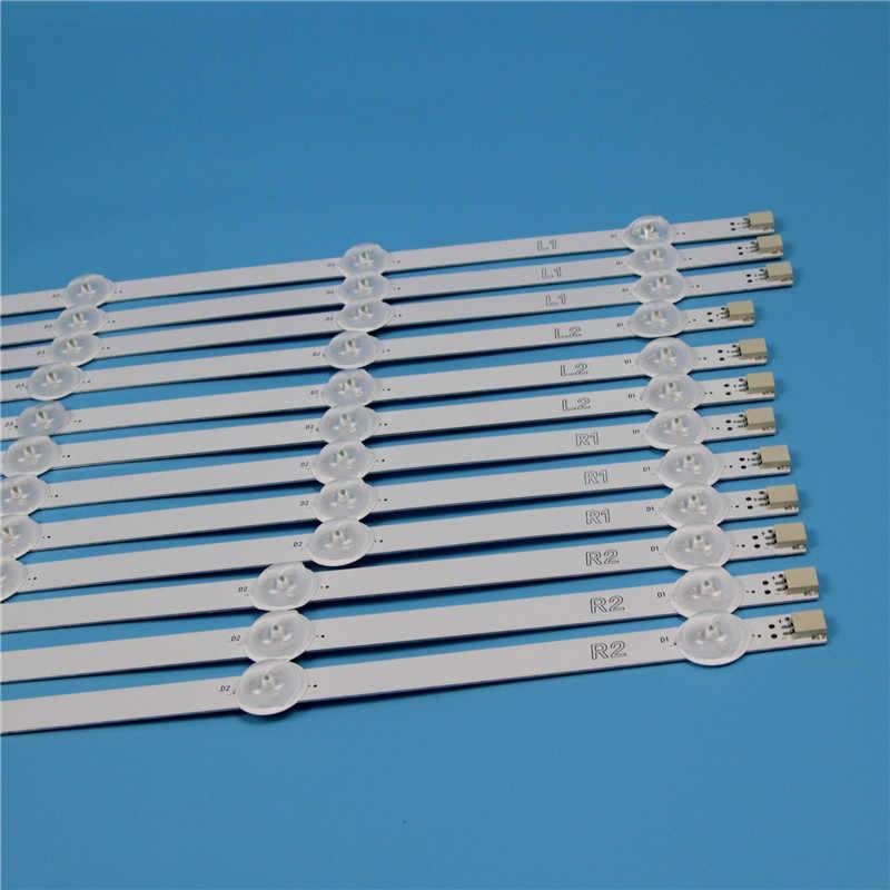 10 Lampen 1000Mm Led Backlight Strip Kit Voor Lg 50LN543V 50LN548C-Zb-Za 50 Inch Tv Array led Strips Backlight Bars Licht Bands