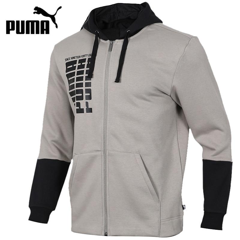 Original New Arrival 2018 PUMA Rebel Up FZ Hoody FL Men's jacket Hooded Sportswear original new arrival 2018 puma evostripe lite fz hoody men s jacket hooded sportswear