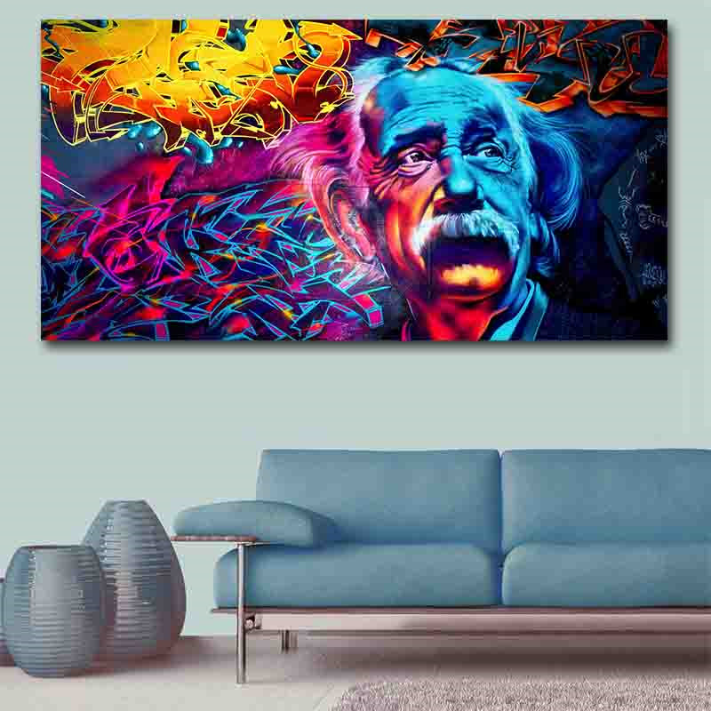 GOODECOR Abstract Wall Art Picture Modern Colorful ...