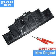 "JIGU A1417 Original Laptop Battery For APPLE for MacBook Pro 15"" Retina Display A1398 2012 2013 Production MC975 MC976"