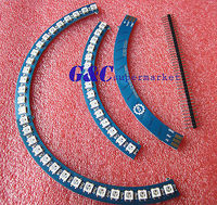 RGB LED RING 60X WS2812 5050 Cascade LED Driver Board 400Hz At Least