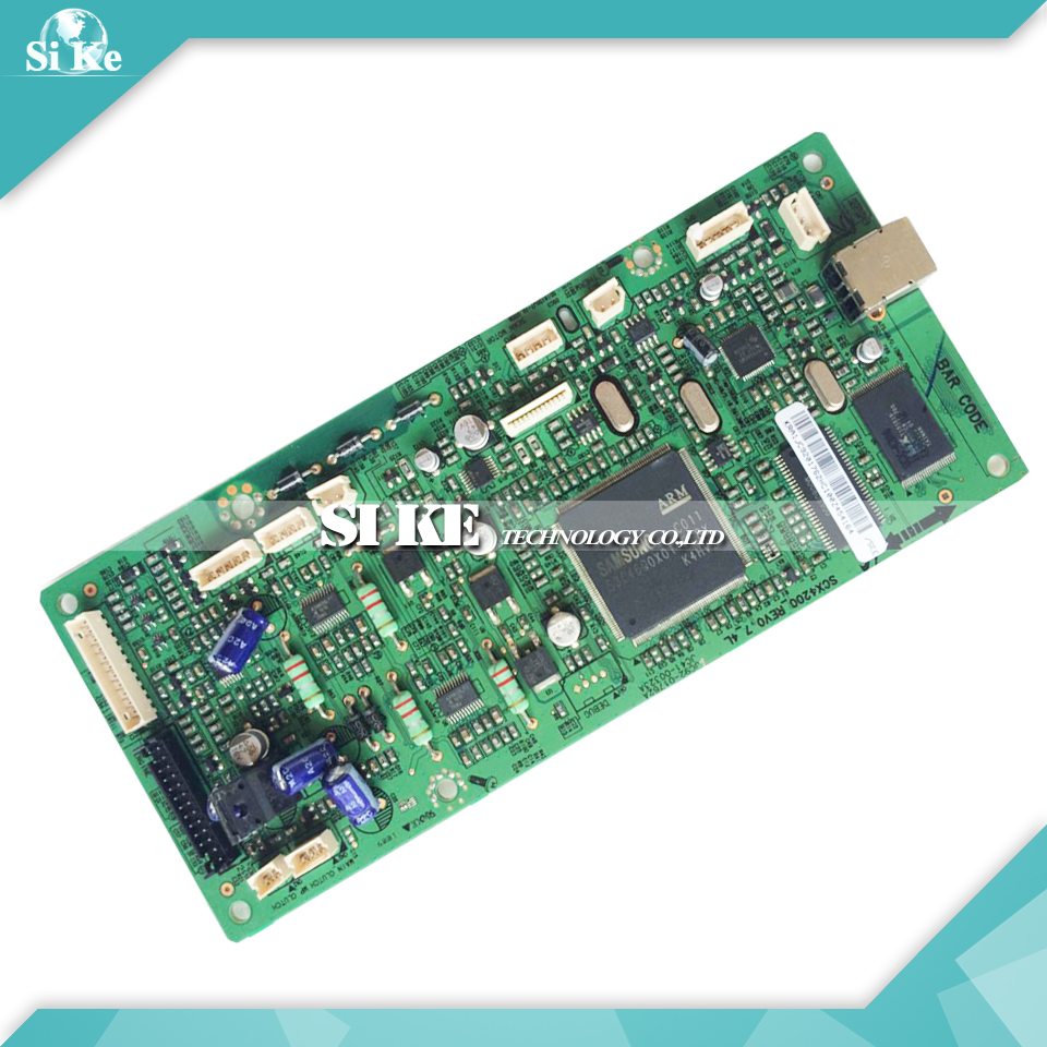 Laser Printer Main Board For Samsung SCX-4200 SCX 4200 SCX4200 Formatter Board Mainboard Logic Board стоимость