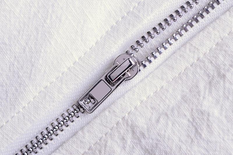 Printemps Automne Italie slim fit veste hommes lin blanc vêtements - Vêtements pour hommes - Photo 4