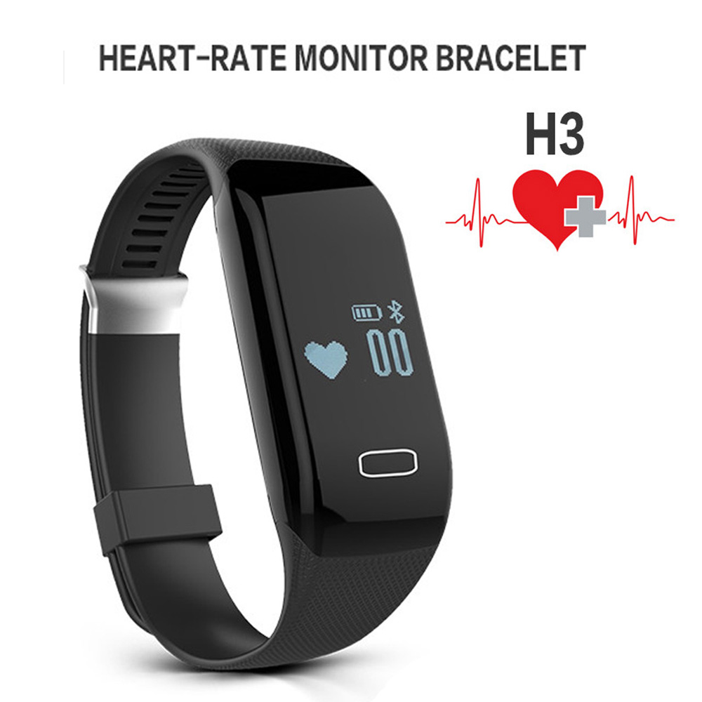 Heart Rate Monitor Bluetooth Smart Bracelet Watch Sport Band Fitness Activity Tracker Pedometer Health Wristband For