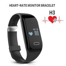 Монитор сердечного ритма Bluetooth Smart Браслет Watch Sport фитнес-трекер активности Шагомер здоровья браслет для IOS Android