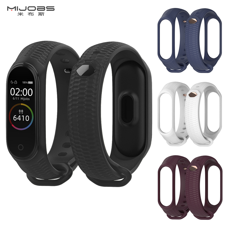 Mi Band 4 Strap Silicone Wrist Strap For Xiaomi Mi Band 4 Sport Silicone Bracelet For Xiaomi Mi Band 3 Band3