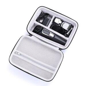 Image 2 - Waterdichte EVA Hard Case voor Philips Norelco Multigroom Serie 3000 5000 7000 MG3750 MG5750/49 MG7750/49 Elektrische scheerapparaat Opslag