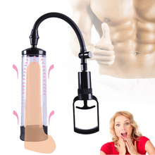купить Penis Pump sex toys for man Penis Enlargement Vacuum Pump Male Penis Extender Enhancer Masturbator Penis Trainer Adult sex toys по цене 257.92 рублей