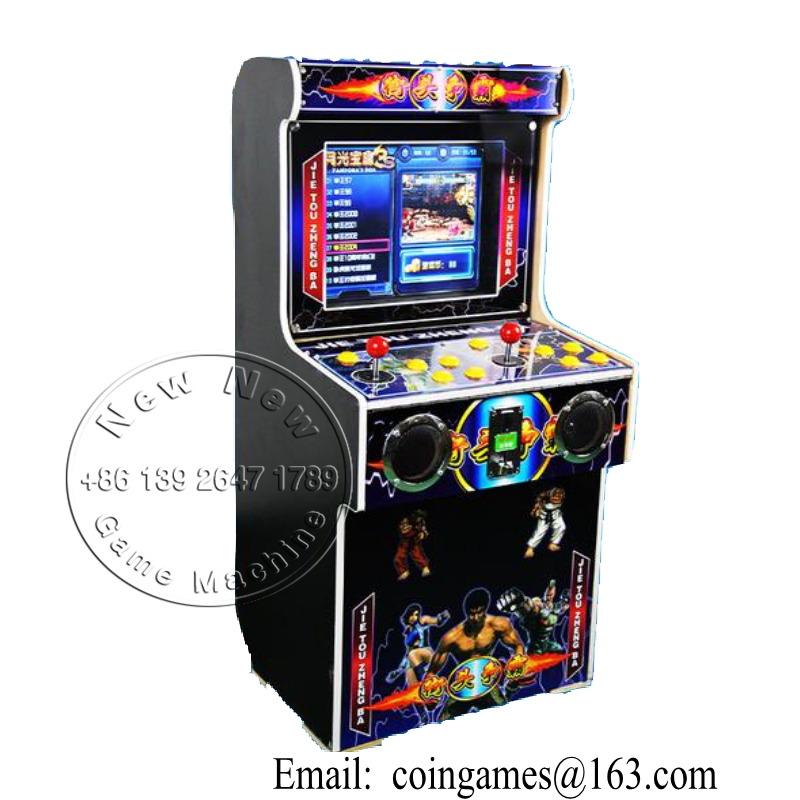 China Elektronischen Shop Multi Spiele Kinder Münz Video Mini Arcade Schrank Street...