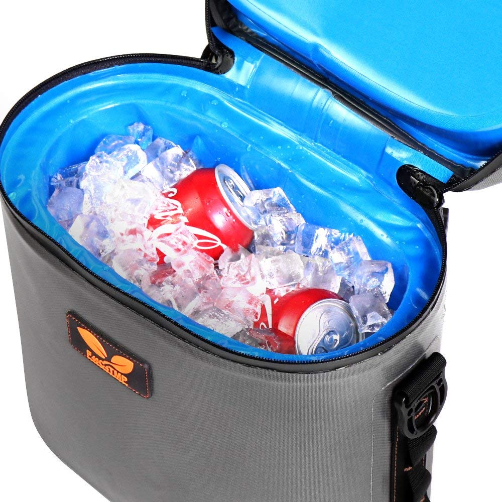 JOYTUTUS cooler bag 11cans Beer Wine Lunch Portable Cooler bags large cooler bag soft pack Beach Kitchen Camping Picnic bag grey цена 2017